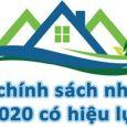 Loạt chính sách nhà đất mới có hiệu lực 2020