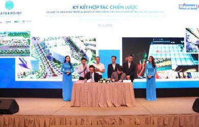 Tháng 7/2020, Nam Long đã ký kết với Keppel Land về việc tư vấn chiến lược phát triển các quỹ đất thương mại tại khu đô thị Waterpoint, đa dạng hóa hệ sinh thái tiện ích, hướng đến gia tăng giá trị cho dự án.