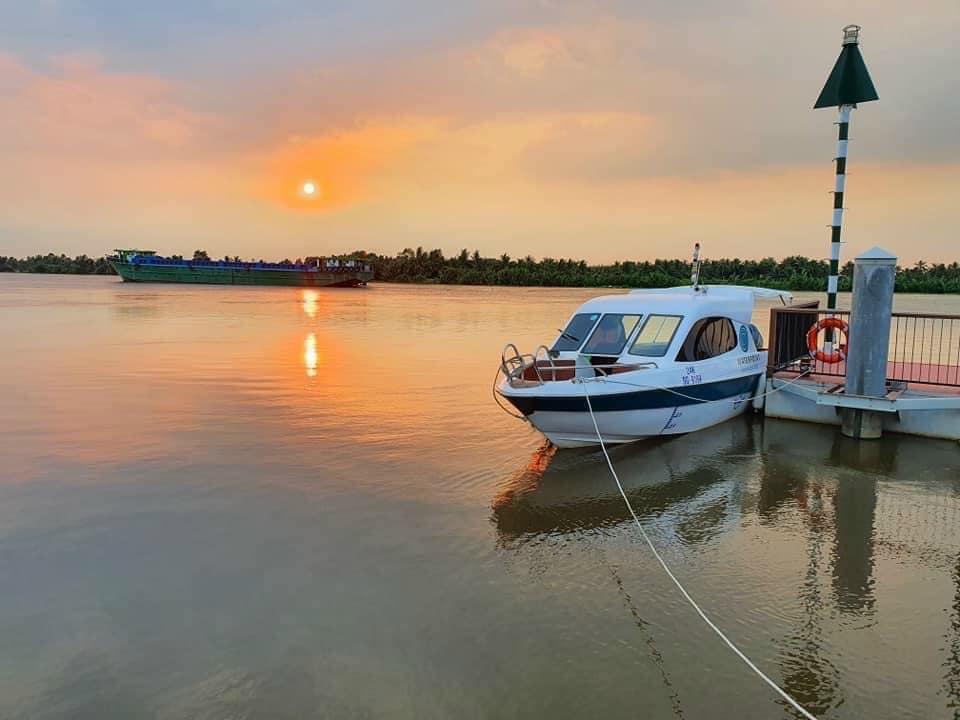 Ngắm nhìn hình ảnh sông Vàm Cỏ Đông