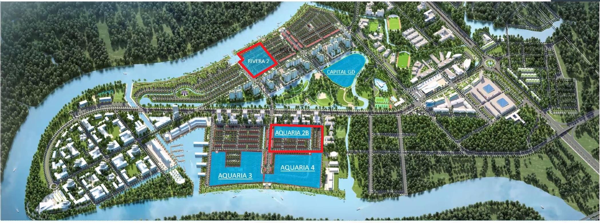 Rivera 2 & Aquaria 2B, Hai phân khu mở bán giai đoạn 2