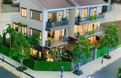 Thiết kếnhà phố Nam Long Waterpoint 1 trệt 2 lầu mới