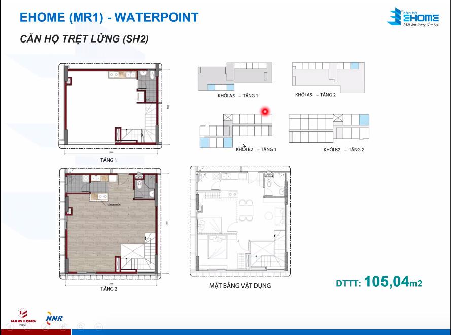 Thiết kế căn hộ 105m2
