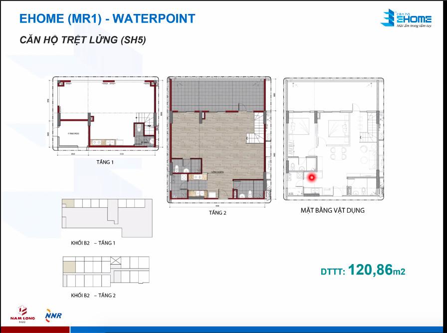 Thiết kế căn hộ 120m2