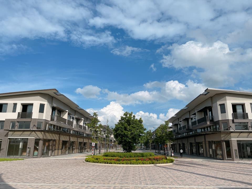 Dãy nhà phố Waterpoint Nam Long