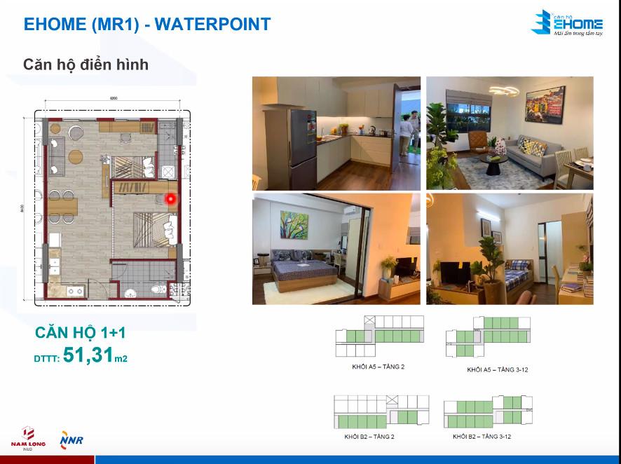Thiết kế căn hộ 51m2