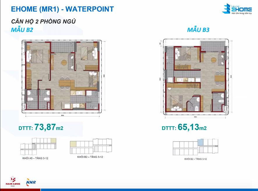 Thiết kế căn hộ 65 - 73m2