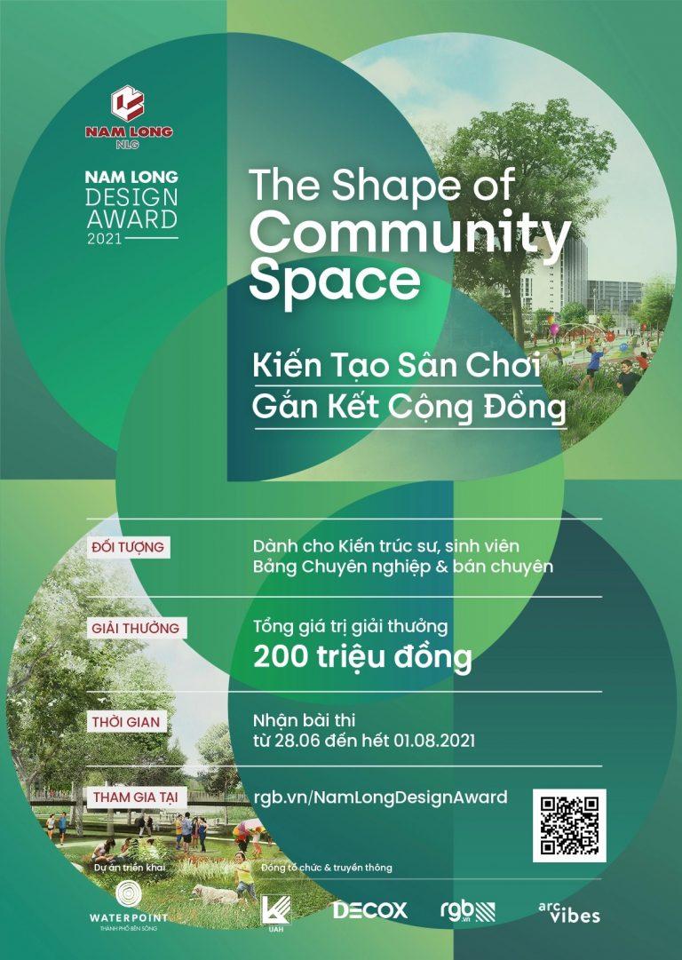 Thể lệ cuộc thi thiết kế Nam Long Design Award 2021